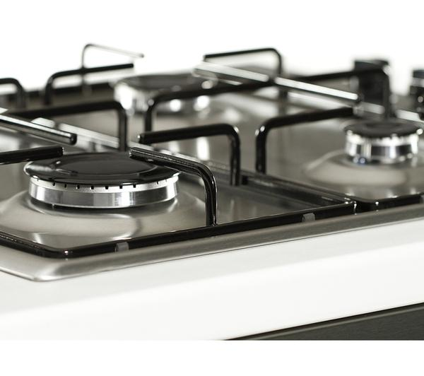 how to clean stainless steel electric hob