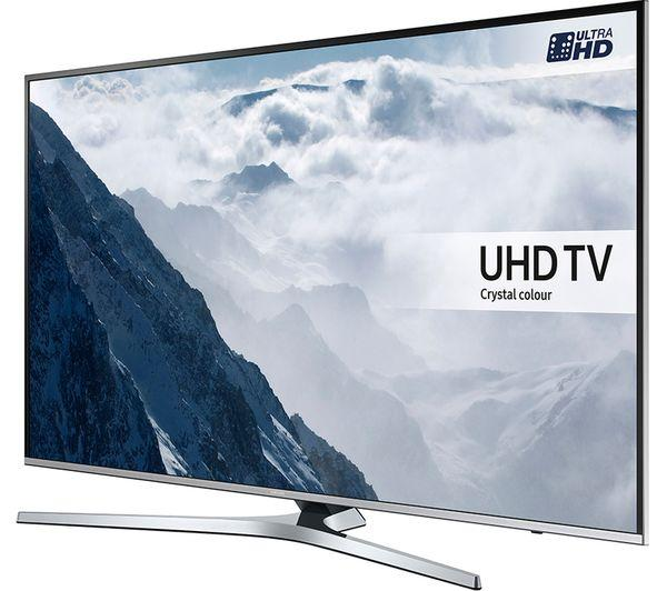 49 Samsung UE49KU6470 4k Ultra HD HDR Freeview Freesat HD Smart LED TV