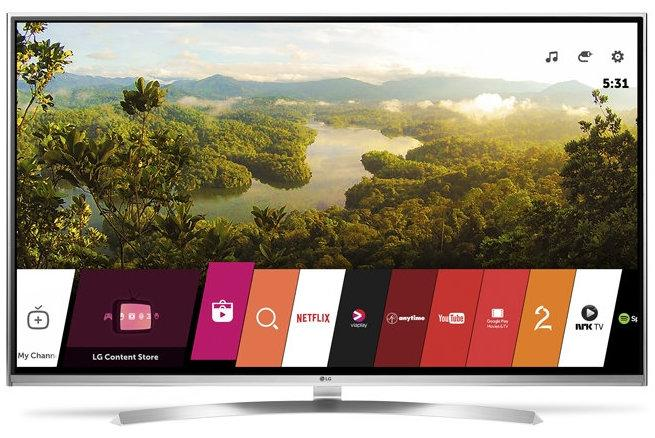 55 LG 55UH850V 4k Ultra HD Freeview HD HDR Smart 3D LED TV