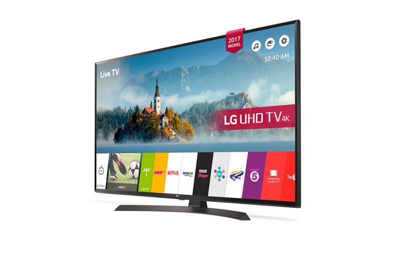 55 LG 55UJ634V 4K Ultra HD Freeview HD Smart HDR LED TV