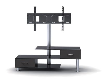 tv stand with bracket and drawers for tvs 32 55 inches
