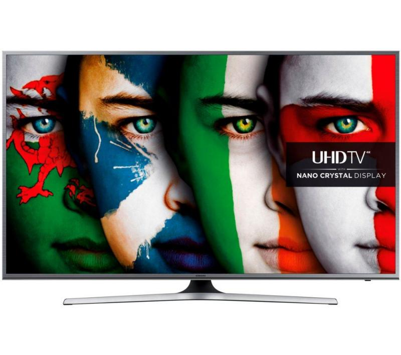 55 Samsung UE55JU6800 Ultra HD 4K Freeview HD Smart LED TV