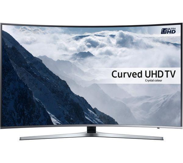 49 Samsung UE49KU6670 Curved Ultra HD HDR 4K Freeview HD Smart LED TV