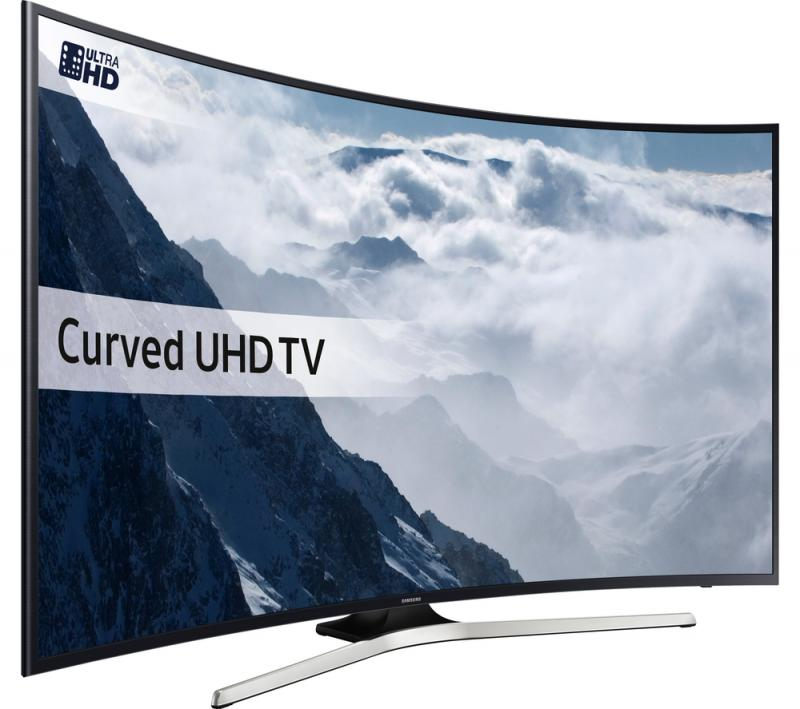 55 Samsung UE55KU6100 Curved Ultra HD HDR 4K Freeview HD Smart LED TV