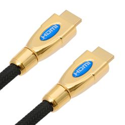 Ultimate 24 Karat Gold Plated HDMI Cable with 3D and Ethernet - 1 Meter