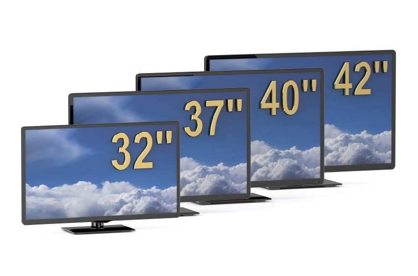 TV Sets in Different Sizes