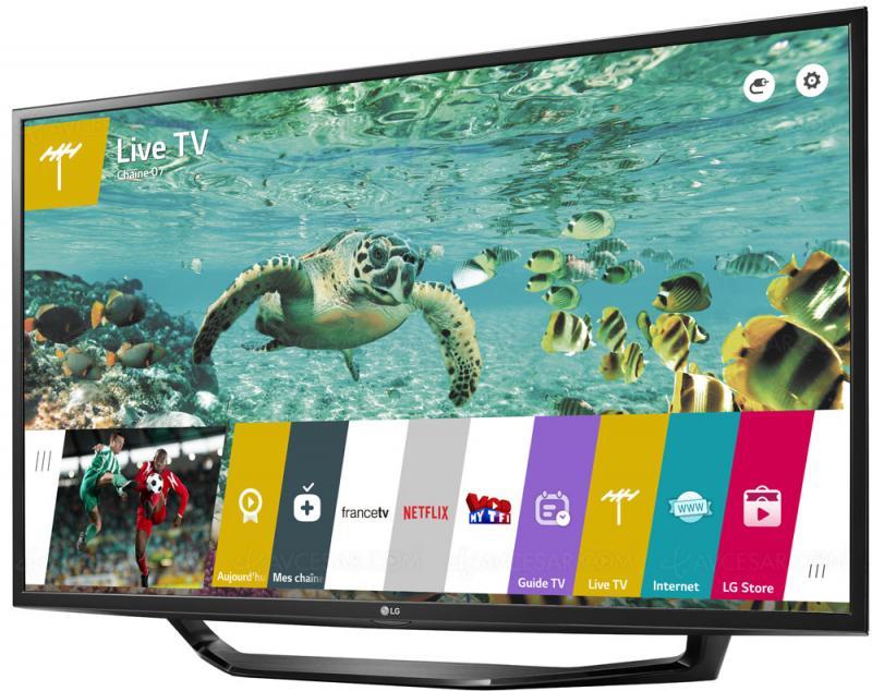 43 LG 43UH620V 4K Ultra HD Freeview HD Smart HDR LED TV