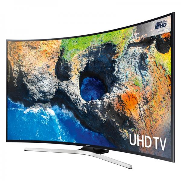 49 Samsung UE49MU6200 Curved Ultra HD HDR 4K Freeview HD Smart LED TV