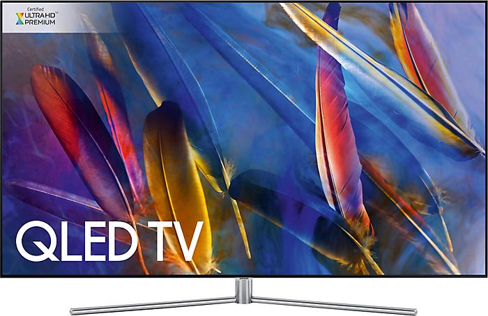 "55"" Samsung QE55Q7FAM 4K HDR Freeview Freesat HD Smart QLED TV"