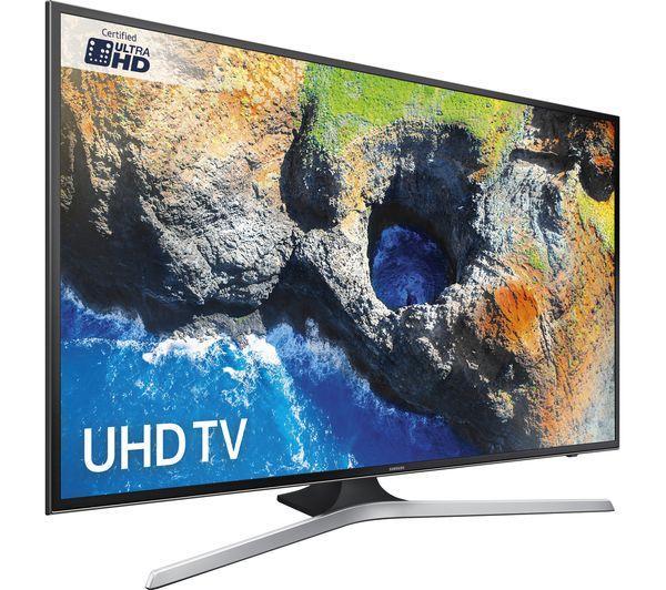 "55"" Samsung UE55MU6120 4K Ultra HD HDR Freeview HD Smart LED TV"