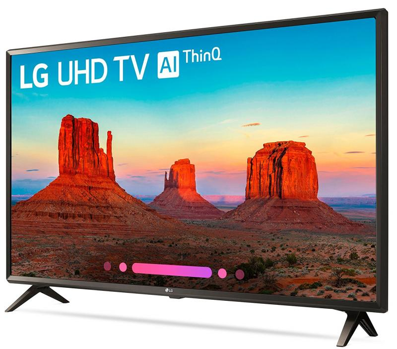 "49"" LG 49UK6300PLB 4K Ultra HD HDR Freeview Freesat HD Smart LED TV"