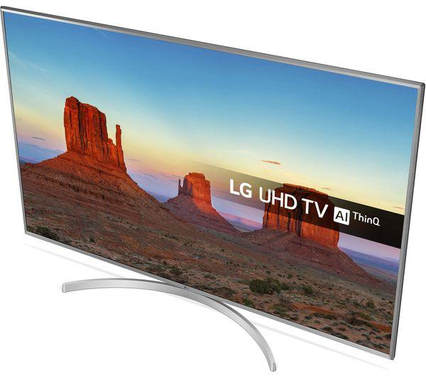 "50"" LG 50UK6950PLB 4K Ultra HD HDR Freeview Freesat HD Smart LED TV"