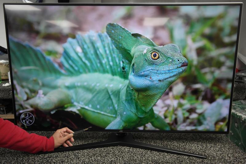 """49"""" JVC LT-49C888 4K Ultra HD Freeview HD HDR Smart LED TV"""