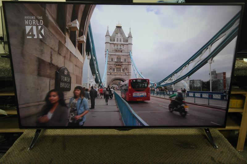 "55"" Panasonic TX-55CX400B Ultra HD 4K Freeview HD Smart 3D LED TV"
