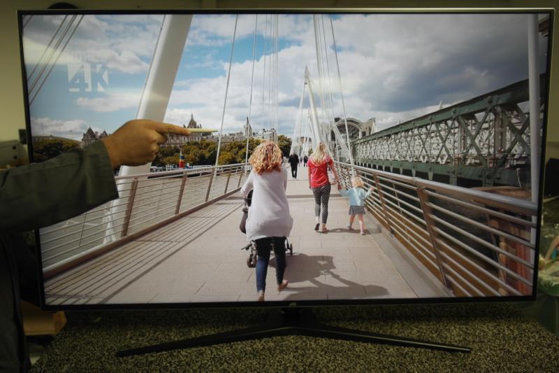 "55"" JVC LT-55C888 4K Ultra HD HDR Freeview Play Smart LED TV"