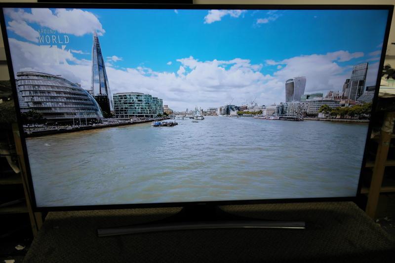"55"" Samsung UE55KU6000 4k Ultra HD Freeview HD Smart LED HDR TV"