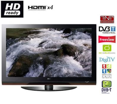 50 LG 50PG6010 HD Ready Digital Freeview Plasma TV