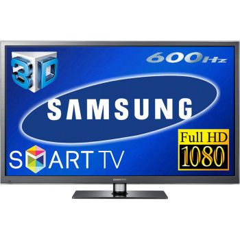 60 Samsung PS60E6500 Full HD 1080p Freeview HD Smart Plasma 3D TV