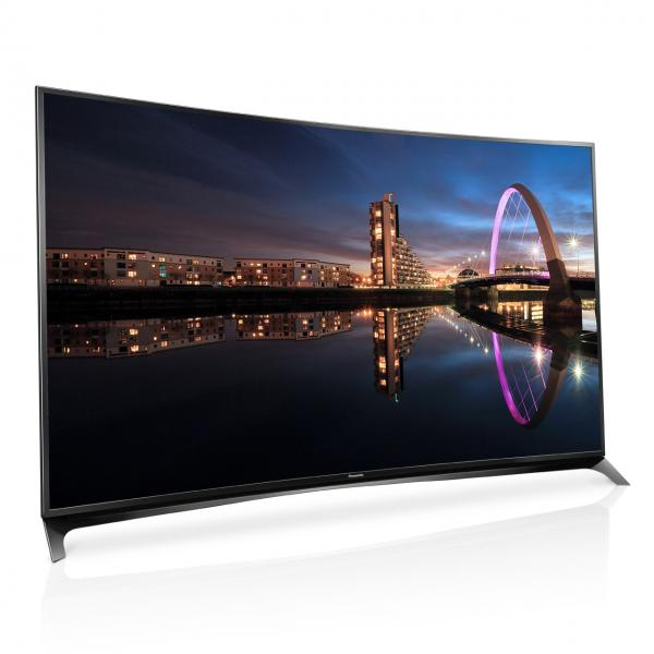"55"" Panasonic TX55CR852B Curved Ultra HD 4K Freeview HD Smart 3D LED TV"
