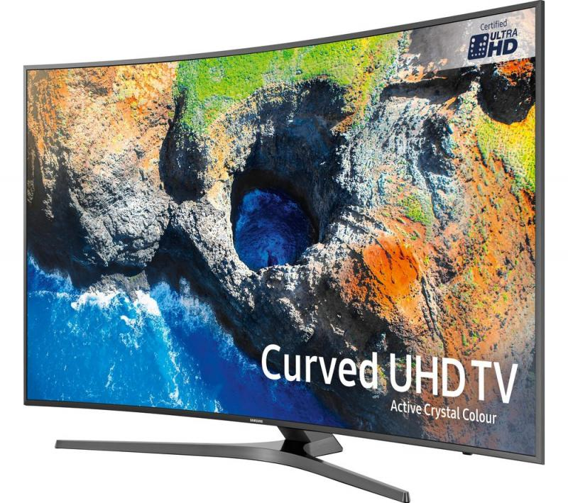 "55"" Samsung UE55MU6670 Curved Ultra HD HDR 4K Freeview HD Smart LED TV"