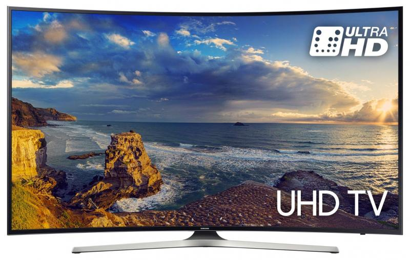 "49"" Samsung UE49MU6200 Curved Ultra HD HDR 4K Freeview HD Smart LED TV"