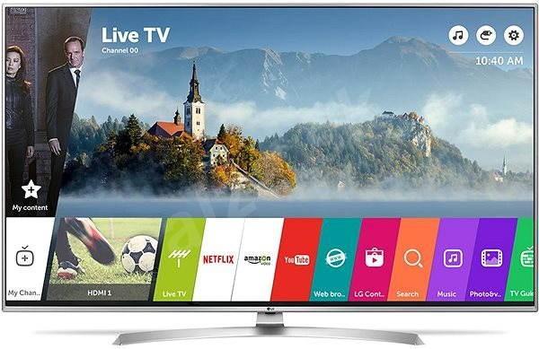 """55"""" LG 55UJ701V 4K Ultra HD Freeview Freesat HD HDR Smart LED TV"""