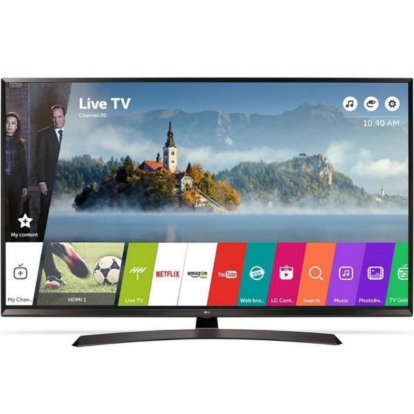 """55"""" LG 55UJ634V 4K Ultra HD Freeview HD Smart HDR LED TV"""