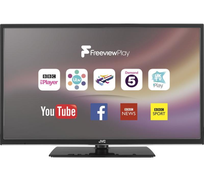 32 JVC LT32C670 HD Ready Digital Freeview Smart LED TV