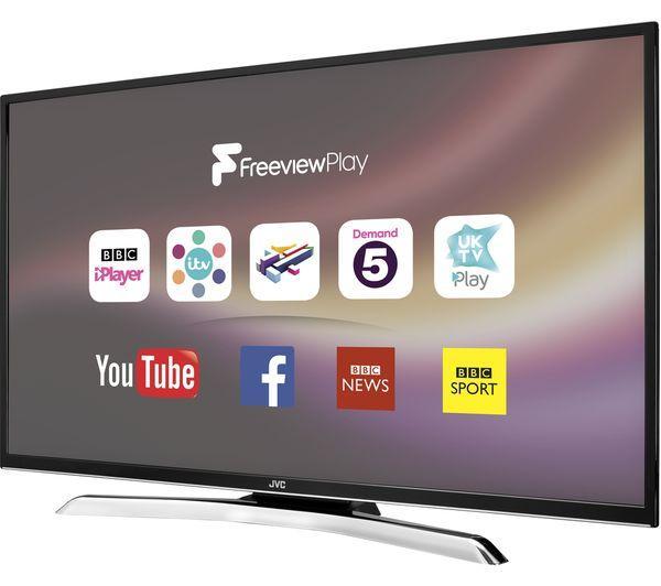 43 JVC LT43C770 Full HD 1080p Digital Freeview Smart LED TV