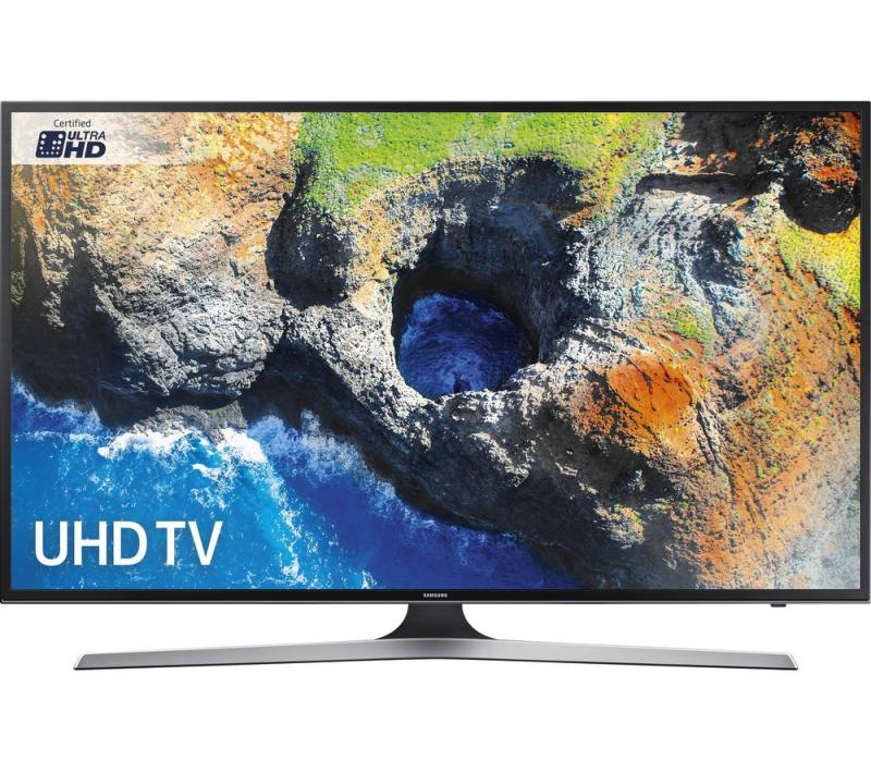 50 Samsung UE50MU6120 4K Ultra HD HDR Freeview HD Smart LED TV