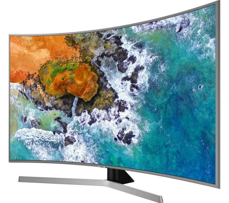 """65"""" Samsung UE65NU7670 4K Certified Ultra HD Curved HDR Smart LED TV"""