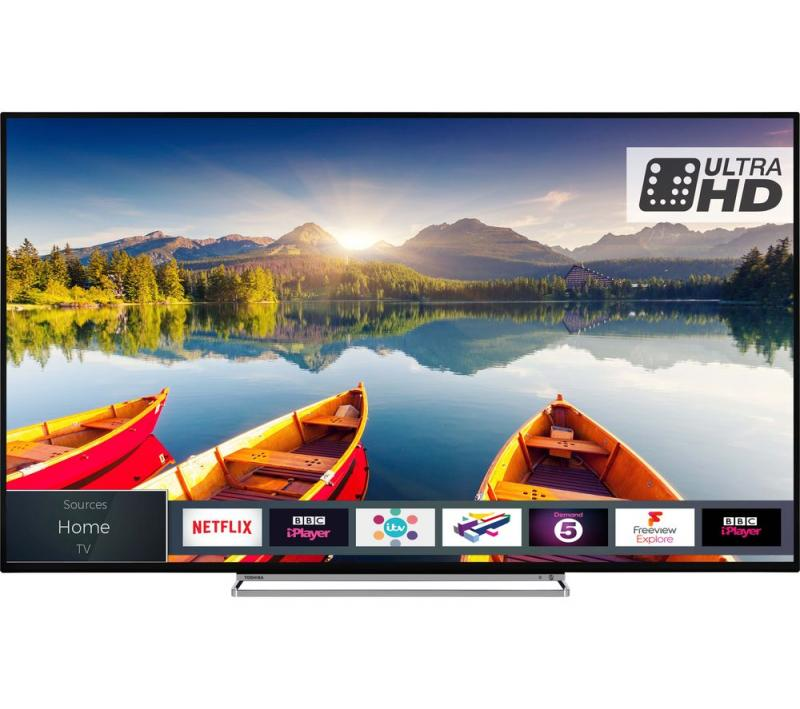 "55"" Toshiba 55U6863DB 4K Ultra HD HDR Smart LED TV"