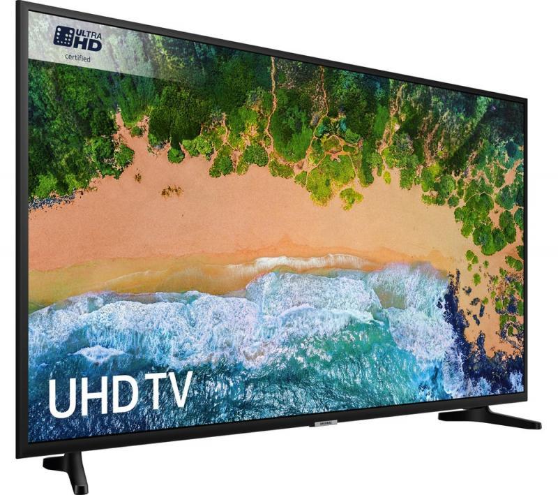 """50"""" Samsung UE50NU7020 Certified 4K Ultra HD HDR Smart LED TV"""
