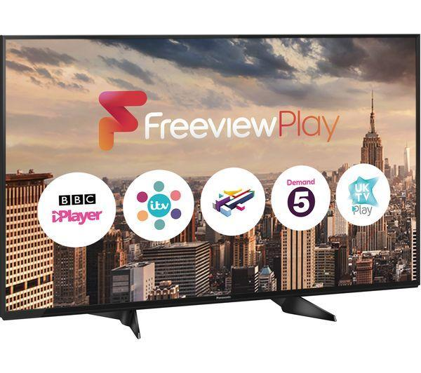 "49"" Panasonic TX-49EX580B 4K HDR Ultra HD Freeview HD Smart LED TV"