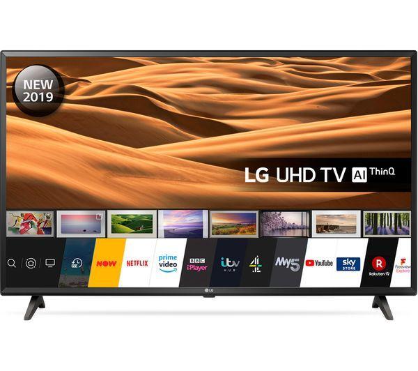 "43"" LG 43UM7000PLA 4K HDR Freeview Play Smart LED TV"
