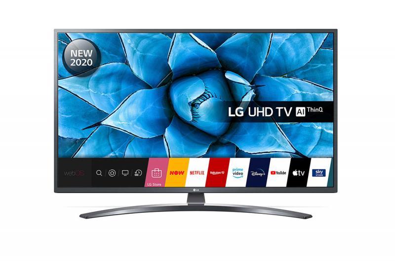 """43"""" LG 43UN74006LB 4K Ultra HD HDR Smart LED TV"""