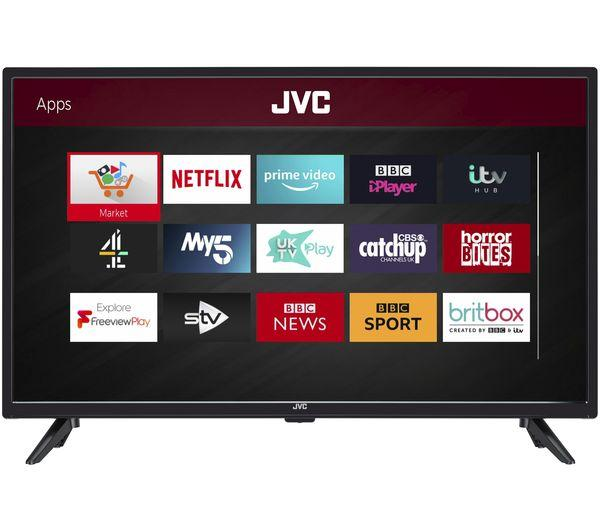 "32"" JVC LT-32C600 HD Ready Freeview Play Smart LED TV"