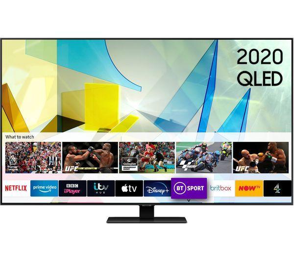 """49"""" Samsung QE49Q80TATXXU Quantum 4K UHD HDR QLED TV"""