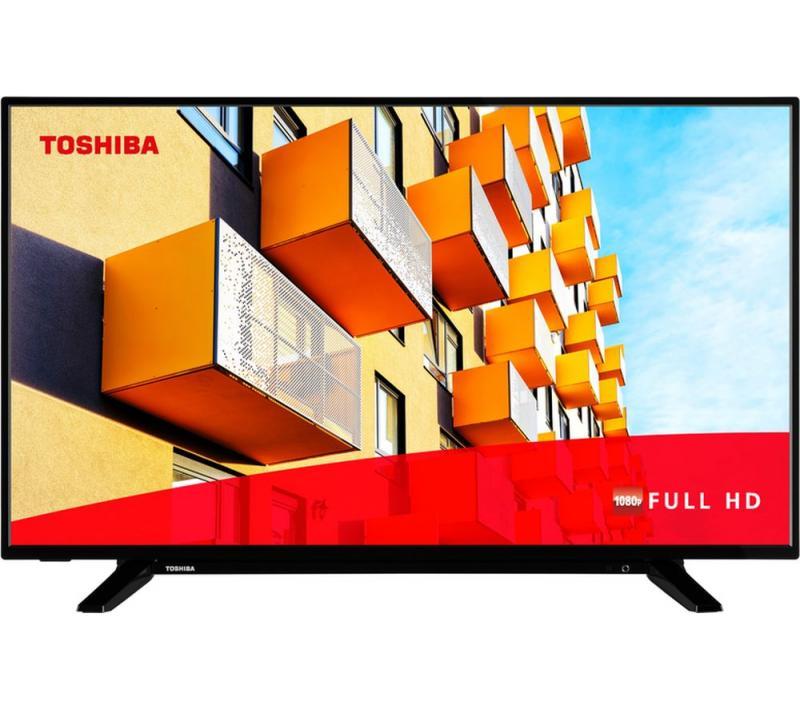 "43"" Toshiba 43L2163DB Full HD HDR Freeview Play Smart LED TV"