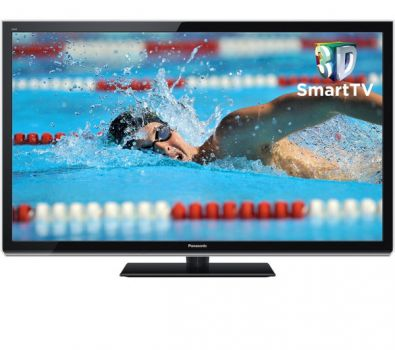50 Panasonic TXP50XT50 Viera HD Ready Freeview HD Smart 3D Plasma TV