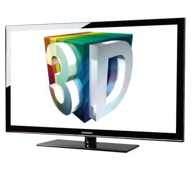 43 Samsung PS43D490B HD Ready Digital Freeview Plasma 3D TV