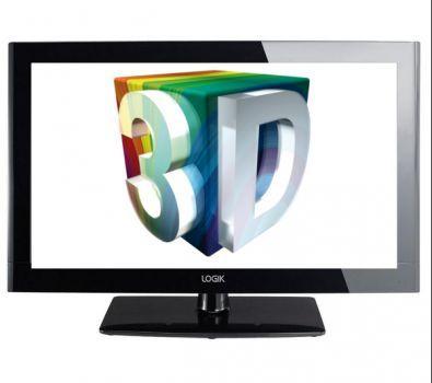 47 Logik L473ED11 Full HD 1080p Digital LED Passive 3D TV