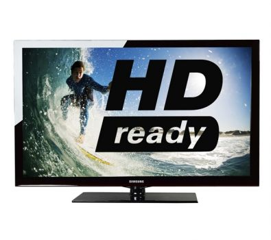 43 Samsung PS43D450B HD Ready Digital Freeview Plasma TV